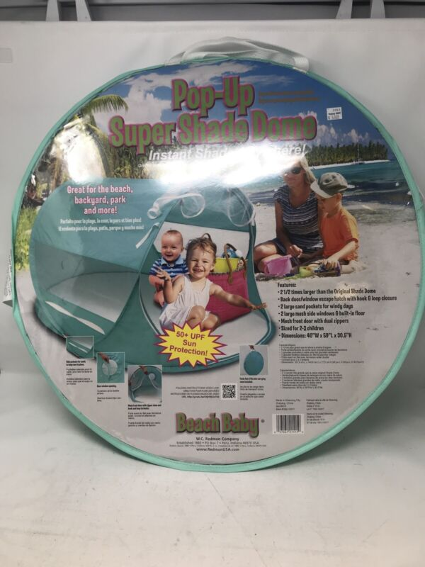 Beach Baby Pop Up Super Shade Dome