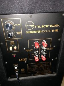 NUANCE PLATE AMP & SPEAKER REPLACEMENT