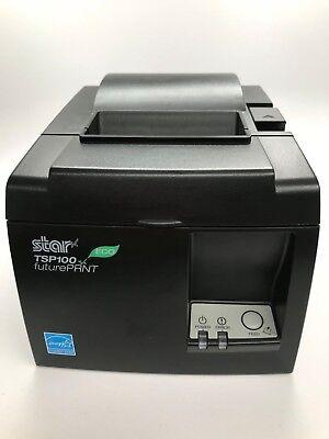 Star Micronics Tsp100iii Series Thermal Receipt Printer - Black