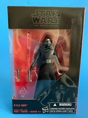 """KYLO REN 3.75"""" Black Series figure in red box (same as Vintage Collection VC117)"""