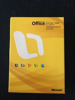 Microsoft Office Mac 2008 Home and Student Edition