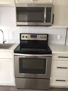Brand new over the range microwave for sale