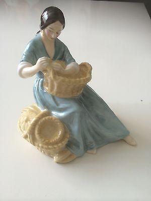 The Basket Weaver Royal Doulton Figure