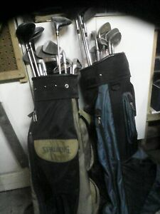 Ladies left hand clubs, mens right