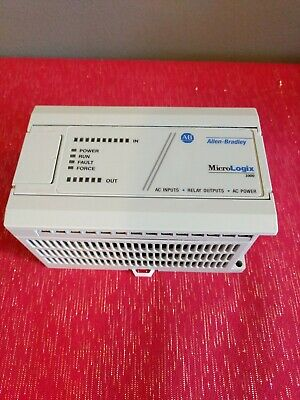 Allen Bradley Micrologix 1000 1761-l16awa Controller. Tested.
