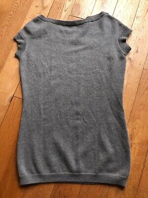 Avant Toi 3 ply fawn gray cashmere sweater 44 2-8