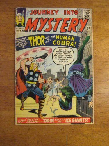 JOURNEY INTO MYSTERY/THOR #98 (FN+) Bright, Colorful & Glossy!