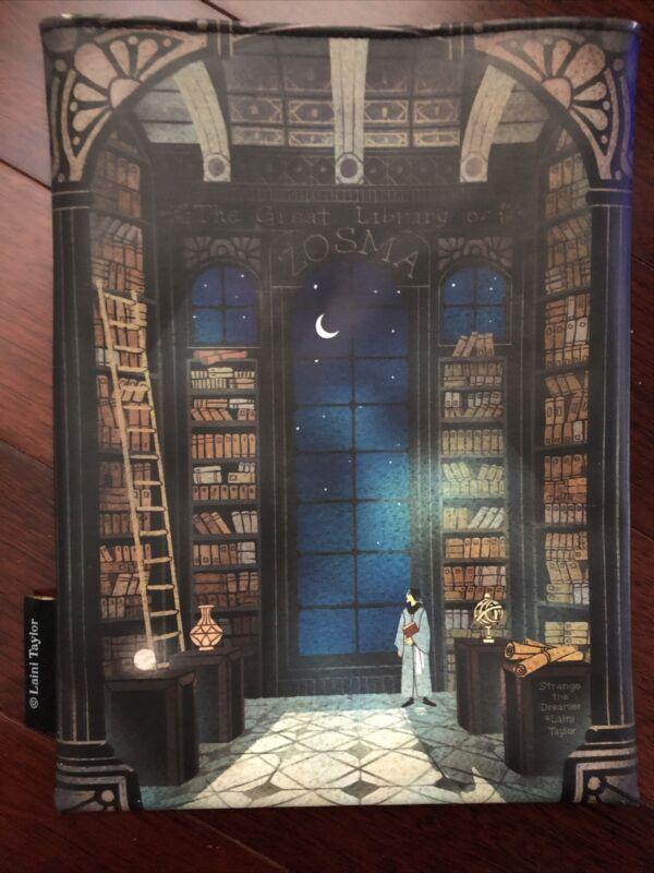 Illumicrate Strange The Dreamer Laini Taylor book sleeve