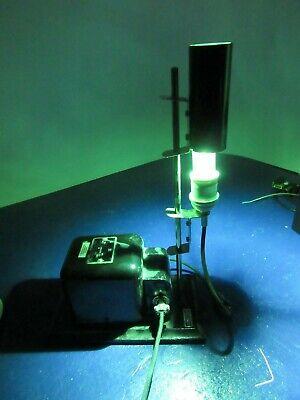 Welch Lamp Light Scientific Instrument Steampunk Laboratory Vintage
