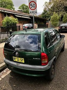 1998 Holden Barina Hatchback Ashfield Ashfield Area Preview