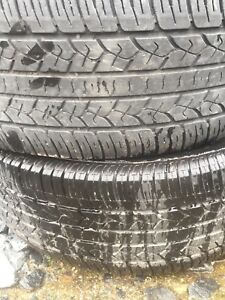 Two tires 255/70r16