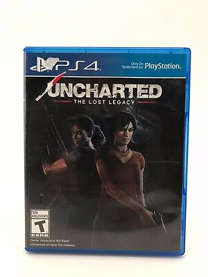 Uncharted  The Lost Legacy Ps4 Video Game  Sony Playstation 4  2017