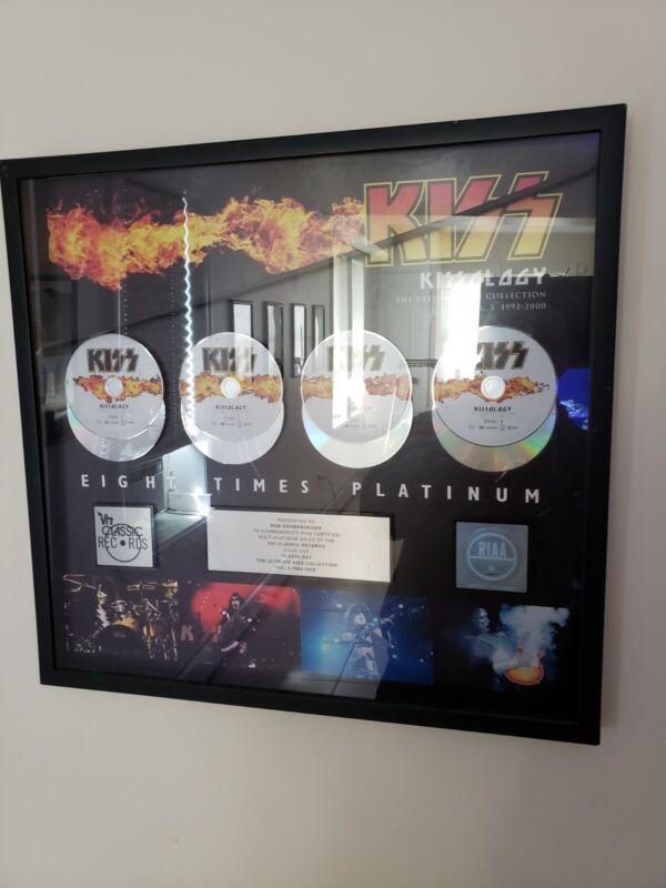 Kiss RIAA Dvd Award! RARE Kissology