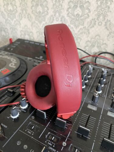 Pioneer Dj Headphones Hdj-X5Bt-R R-Metallic Red Bluetooth