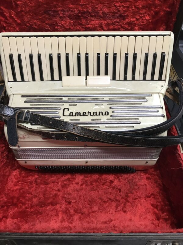 Camerano Italian Made Accordian 1950
