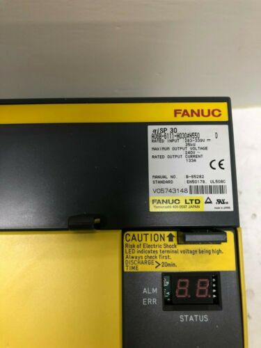 Fanuc A06b-6111-h030#550 Spindle Drive Fully Refurbished!!! Exchange Only