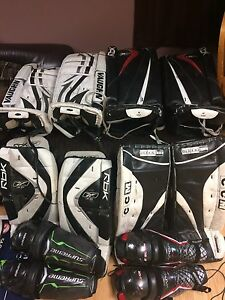 Goalie pads and knee pads