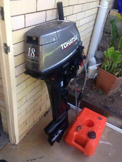 18Hp 2 Stroke Tohatsu Outboard Motor Geebung Brisbane North East Preview