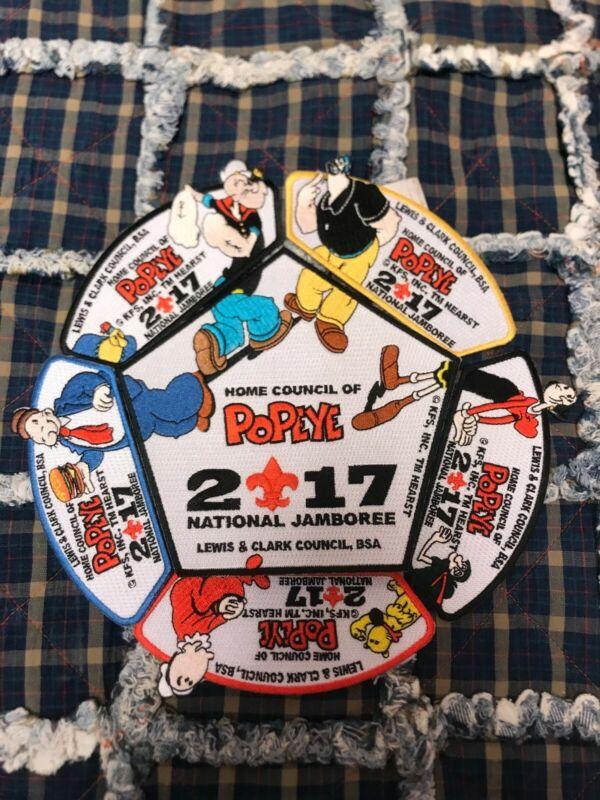 2017 National Jamboree Popeye Patch Set