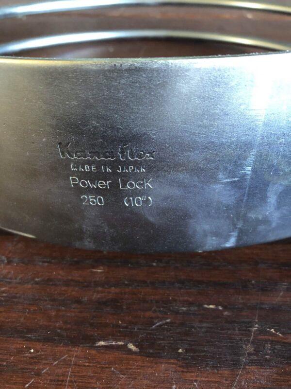"Kanaflex 250 Steel Power Lock Clamp 10"" New Surplus Stock"