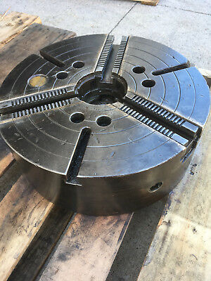 Used Gisholt 15 Power Chuck 3-jaw A-8 Mount Usa