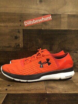 Mens Apollo Athletic Shoes (Mens Size 15 Under Armour Running Shoes Speedform Apollo 2 Orange)