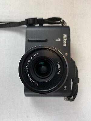 Nikon 1 J1 10.1MP Digital Camera - Black With 11-27.5mm Lens