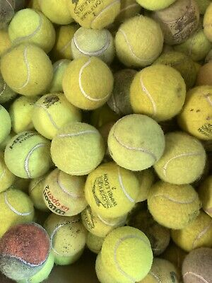 30 Used Tennis Balls - Great Value. Your Dog Will Just Love Them 😀👍🏻😀