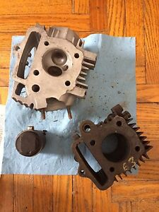 1965 Honda S65 Cylinder Head Piston Cam