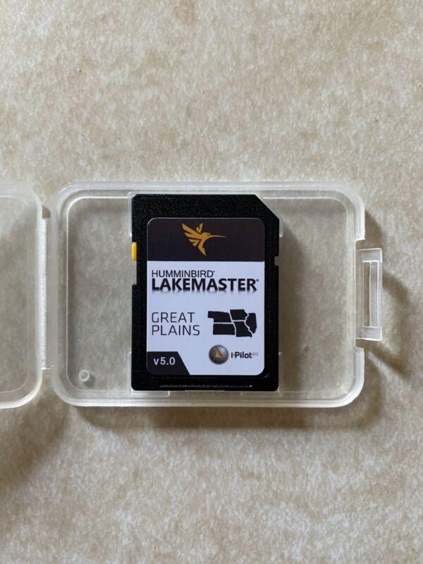 Humminbird Lakemaster Great Plains Card v5