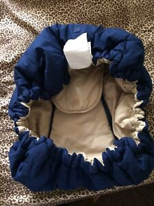 Reversible carseat cover