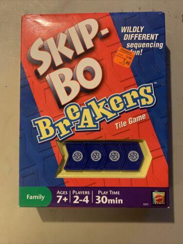 Skip-Bo Breakers Tile Game W/ Instructions - $15.99