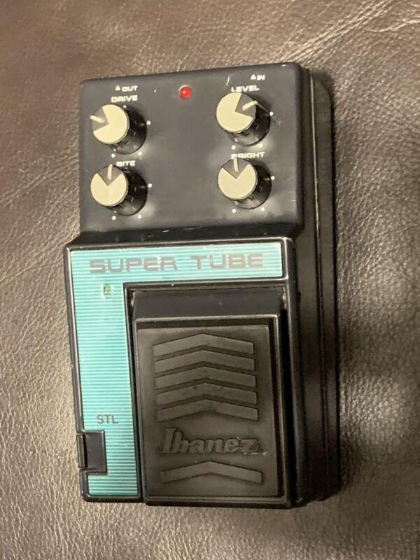 Ibanez STL Super Tube Lead Overdrive Distortion Ts Series 4558 JRD Chips Japan