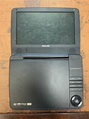 """Philips PD9000/37 9"""" LCD Portable DVD Player --No power adapter"""