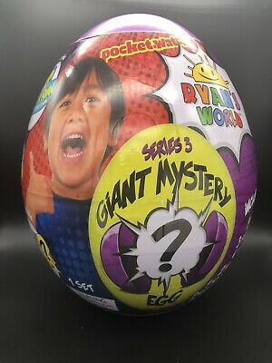 RYAN'S WORLD Giant Mystery Purple Egg Series 3 NEW