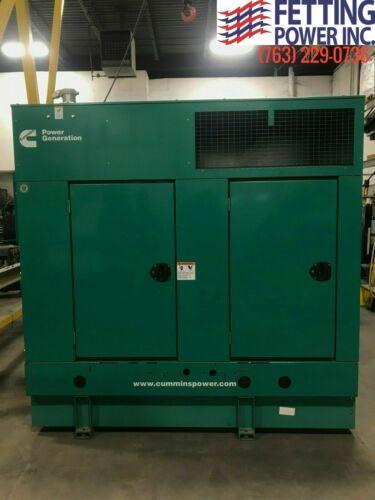 New 35kW Cummins DGHCB Diesel Generator | S/N: H140732681