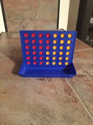Connect Four In A Row 4 Board Game Kids Children Fun Educational