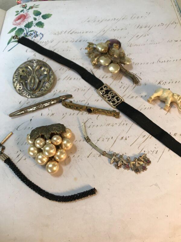 Antique Victorian Jewelry Lot