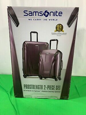 "Samsonite ProStrength 2 piece Hardside Lock 29"" Spinner Lightweight Luggage Set"