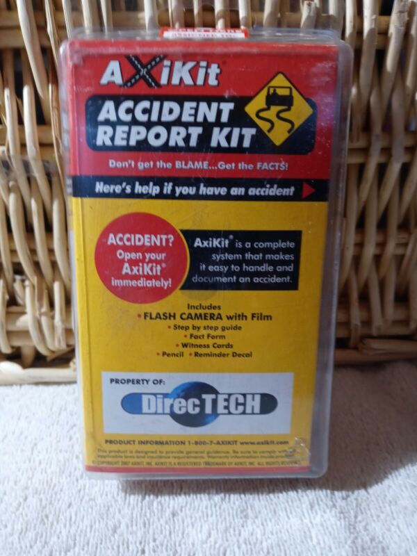 Accident Report Kit Property Of DirecT