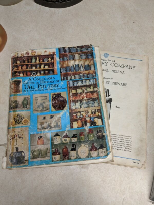UHL Pottery Collectors Guide & History 2 Booklets