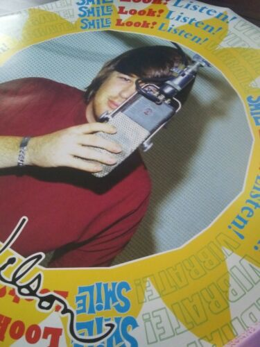 Brian Wilson Smile LP - Inaugural 1st Tour Poster, Tour Only, Signed