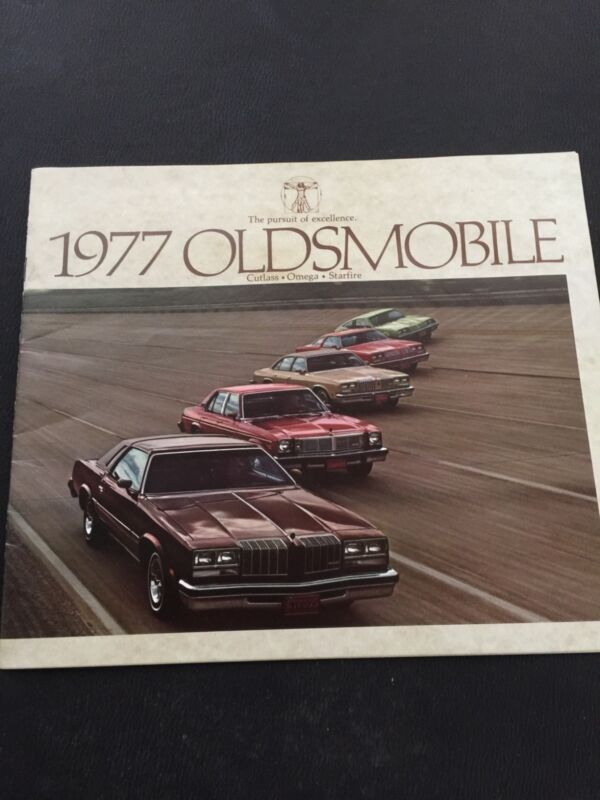 1977 Oldsmobile Original Manufactured Brochure