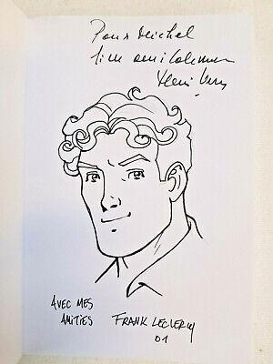 Bob Morane - L'ombre Jaune - Ananké/Lefrancq - Dédicace des 2 auteurs