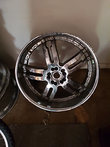 "4x 22"" universal rims Wolli Creek Rockdale Area Preview"