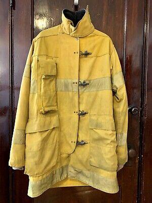 Morning Pride Firefighter Long Jacket Coat Yellow Turnout Gear Fireman 39 39 37