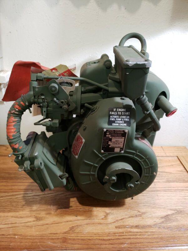 NEW  Military Surplus Gas Engine Teledyne WFI 1.5HP  1A08-4 8 CU INCH NOS