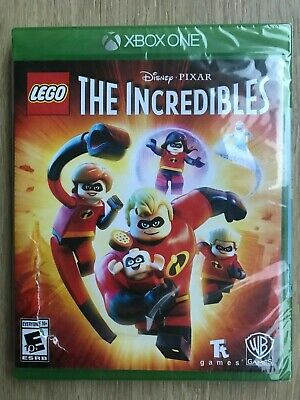 LEGO Disney Pixar's The Incredibles XBox One New Sealed w Damaged Case Fast Ship