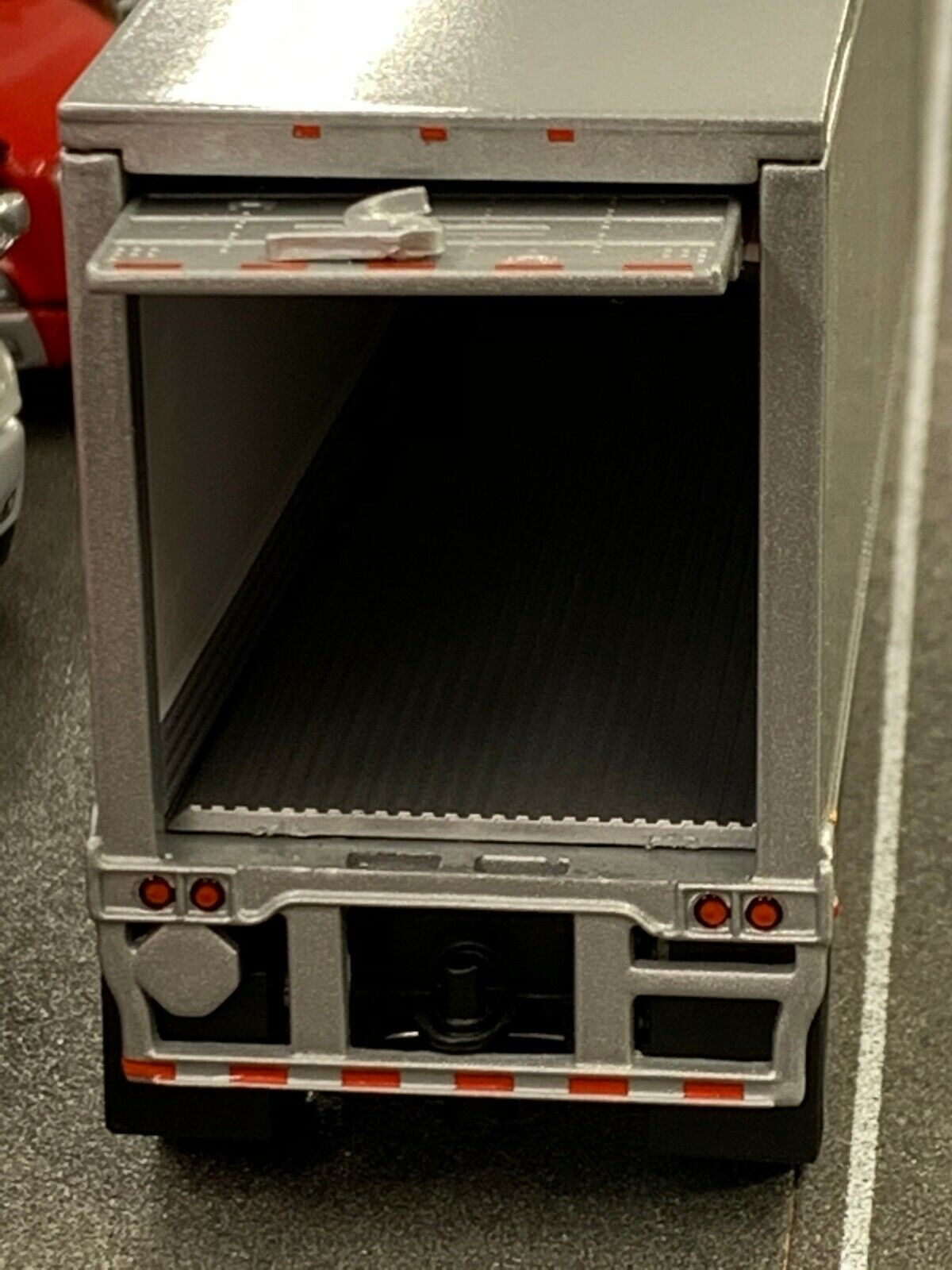 1/64 DCP SILVER WABASH THERMO KING REEFER PUP TRAILER SET 2