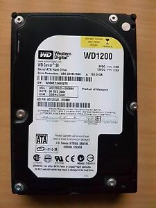 HDD: WD 120GB Hard Drive Glandore Marion Area Preview